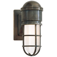Visual Comfort SL2000BZ-WG E. F. Chapman Marine 1 Light 5 inch Bronze Bath Wall Light