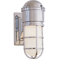 Visual Comfort E.F. Chapman Marine 1 Light Bath Wall Light in Chrome SL2000CH-WG