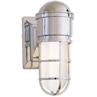 Visual Comfort SL2000CH-WG E. F. Chapman Marine 1 Light 5 inch Chrome Bath Wall Light