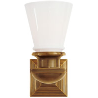 E. F. Chapman New York Subway 1 Light 5 inch Hand-Rubbed Antique Brass Bath Wall Light