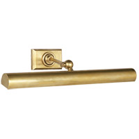 Visual Comfort E.F. Chapman Cabinet Makers 2 Light Picture Light in Hand-Rubbed Antique Brass SL2705HAB