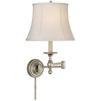Visual Comfort SL2800AN-S E. F. Chapman Classic 19 inch 100 watt Antique Nickel Swing-Arm Wall Light