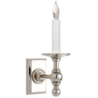 E. F. Chapman Classic 1 Light 4 inch Polished Nickel Decorative Wall Light