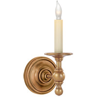 E.F. Chapman Classic 1 Light 5 inch Hand-Rubbed Antique Brass Decorative Wall Light