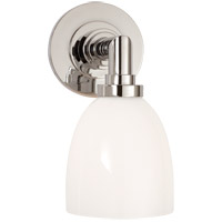 Visual Comfort E. F. Chapman Wilton 1 Light 5 inch Polished Nickel Bath Wall Light SL2841PN-WG - Open Box
