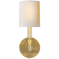 Visual Comfort SL2845HAB-NP E. F. Chapman Wilton 1 Light 5 inch Hand-Rubbed Antique Brass Decorative Wall Light