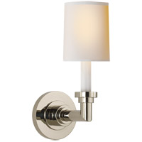Visual Comfort SL2845PN-NP E. F. Chapman Wilton 1 Light 5 inch Polished Nickel Decorative Wall Light