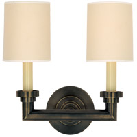Visual Comfort SL2846BZ-NP E. F. Chapman Wilton 2 Light 13 inch Bronze Decorative Wall Light