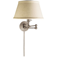 Visual Comfort SL2920AN-L E. F. Chapman Boston 19 inch 60 watt Antique Nickel Swing-Arm Wall Light