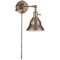 Visual Comfort SL2920AN/SLE-AN E. F. Chapman Boston 15 inch 60 watt Antique Nickel Swing-Arm Wall Sconce Wall Light