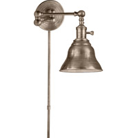 Visual Comfort Studio Boston Sandy Chapman Boston Swing Arm in Antique Nickel with SLE Shade SL2920AN/SLE-AN