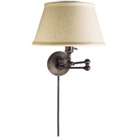 Visual Comfort SL2920BZ-L E. F. Chapman Boston 19 inch 60 watt Bronze Swing-Arm Wall Light