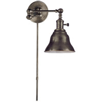 E. F. Chapman Boston 15 inch 60 watt Bronze Swing-Arm Wall Light