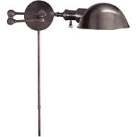 E. F. Chapman Boston 23 inch 60 watt Bronze Swing-Arm Wall Light