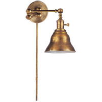Visual Comfort SL2920HAB/SLE-HAB E. F. Chapman Boston 15 inch 60 watt Hand-Rubbed Antique Brass Swing-Arm Wall Light