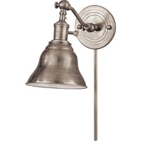 Visual Comfort E.F. Chapman Boston 1 Light Task Wall Light in Antique Nickel SL2921AN/SLE-AN