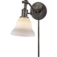 Visual Comfort E.F. Chapman Boston 1 Light Bath Wall Light in Bronze with Wax SL2921BZ/SLEG-WG