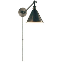 E. F. Chapman Boston 18 inch 60 watt Bronze Single Arm Library Light Wall Light