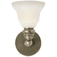 Visual Comfort SL2931AN/SLEG-WG E. F. Chapman Boston 1 Light 6 inch Antique Nickel Wall Light