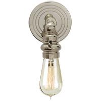 Visual Comfort E. F. Chapman Boston 1 Light 5 inch Polished Nickel Wall Light SL2931PN - Open Box