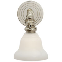 Visual Comfort SL2931PN/SLEG-WG E. F. Chapman Boston 1 Light 6 inch Polished Nickel Wall Light