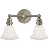 Visual Comfort SL2932AN/SLEG-WG E. F. Chapman Boston 2 Light 15 inch Antique Nickel Wall Light