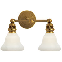 Visual Comfort SL2932HAB/SLEG-WG E. F. Chapman Boston 2 Light 15 inch Hand-Rubbed Antique Brass Wall Light