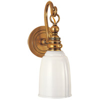 Visual Comfort SL2934HAB-WG E. F. Chapman Boston 1 Light 5 inch Hand-Rubbed Antique Brass Wall Light