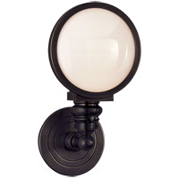 Visual Comfort SL2935BZ-WG E. F. Chapman Boston 1 Light 6 inch Bronze Wall Light