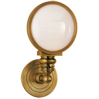 Visual Comfort SL2935HAB-WG E. F. Chapman Boston 1 Light 6 inch Hand-Rubbed Antique Brass Wall Light photo thumbnail