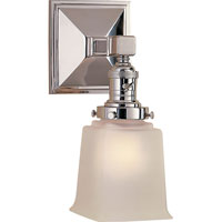 Visual Comfort E.F. Chapman Boston 1 Light Bath Wall Light in Chrome SL2941CH-FG