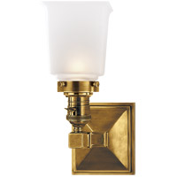 Hand-Rubbed Antique Brass Wall Sconces