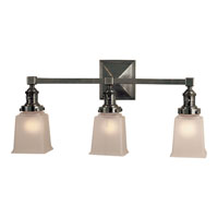 Visual Comfort E.F. Chapman Boston 3 Light Bath Wall Light in Bronze with Wax SL2943BZ-FG