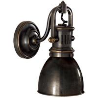 Visual Comfort SL2975BZ-BZ E. F. Chapman Yoke 1 Light 5 inch Bronze Suspended Wall Sconce Wall Light