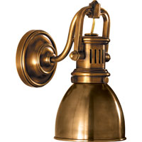 Visual Comfort SL2975HAB-HAB E. F. Chapman Yoke 1 Light 5 inch Hand-Rubbed Antique Brass Suspended Wall Sconce Wall Light