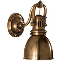 Visual Comfort SL2975HAB-HAB E. F. Chapman Yoke 1 Light 5 inch Hand-Rubbed Antique Brass Suspended Wall Sconce Wall Light photo thumbnail