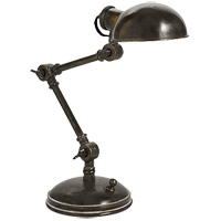 E.F. Chapman Pixie 13 inch 25 watt Bronze Task Table Lamp Portable Light
