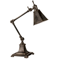 E.F. Chapman Architects 18 inch 40 watt Bronze Task Table Lamp Portable Light