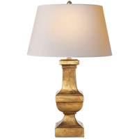 Visual Comfort SL3338GI-NP E F Chapman Balustrade 28 inch 150 watt Gilded Iron Decorative Table Lamp Portable Light in Natural Paper photo thumbnail