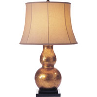 Visual Comfort E.F. Chapman Gourd 1 Light Decorative Table Lamp in Antique Gold Leaf SL3801AGL-L
