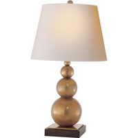 Visual Comfort E.F. Chapman Stacked 1 Light Decorative Table Lamp in Hand-Rubbed Antique Brass SL3805HAB-NP