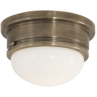 Visual Comfort SL4001AN-WG E. F. Chapman Marine 1 Light 8 inch Antique Nickel Flush Mount Ceiling Light