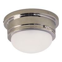 Visual Comfort E.F. Chapman Marine 1 Light Flush Mount in Chrome SL4001CH-WG