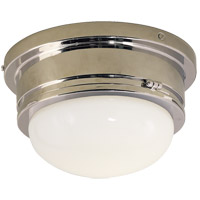 Visual Comfort SL4001CH-WG E. F. Chapman Marine 1 Light 8 inch Chrome Flush Mount Ceiling Light