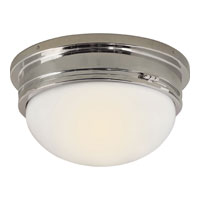Visual Comfort SL4002CH-WG E. F. Chapman Marine 2 Light 13 inch Chrome Flush Mount Ceiling Light