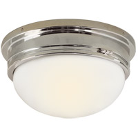 Visual Comfort SL4002CH-WG E. F. Chapman Marine 2 Light 13 inch Chrome Flush Mount Ceiling Light