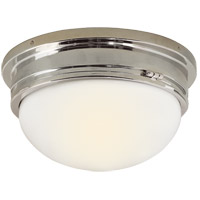 Visual Comfort SL4002PN-WG E. F. Chapman Marine 2 Light 13 inch Polished Nickel Flush Mount Ceiling Light