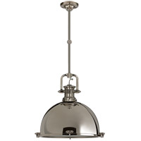 Visual Comfort SL5175PN-PN1 E. F. Chapman Yoke 1 Light 18 inch Polished Nickel Pendant Ceiling Light