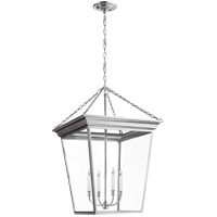 Visual Comfort E.F. Chapman Cornice 4 Light Ceiling Lantern in Polished Nickel SL5872PN