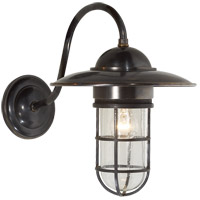 Visual Comfort SLO2003BZ-SG E. F. Chapman Marine 1 Light 16 inch Bronze Outdoor Wall Lantern in Seeded Glass